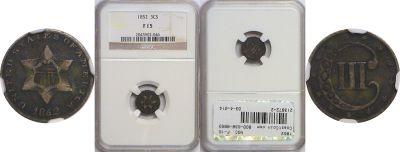 1852. NGC. F-15.