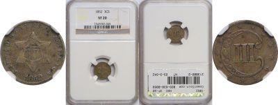 1852. NGC. VF-20.