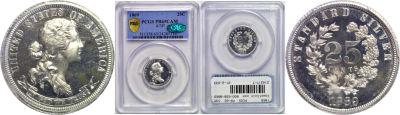 1869. Quarter. PCGS. PR-65. CAM. J-737.