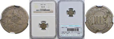 1852. NGC. VG-10.