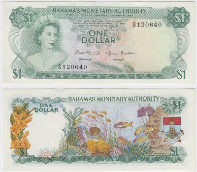 1968. Bahamas. $1. CU. P-27.
