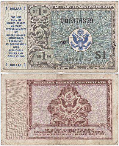 $1. Series 472. FINE.