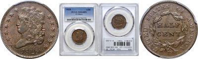 1828. PCGS. MS-64. BN.