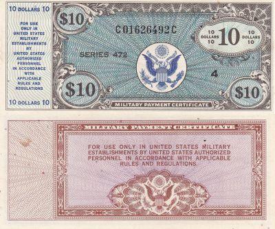 10 Dollars. 472. AU.
