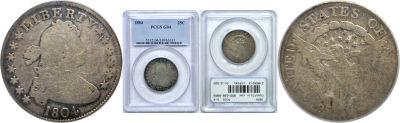 1804. PCGS. G-4.