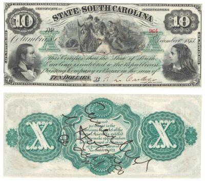 1873. $10. CCU. SC.