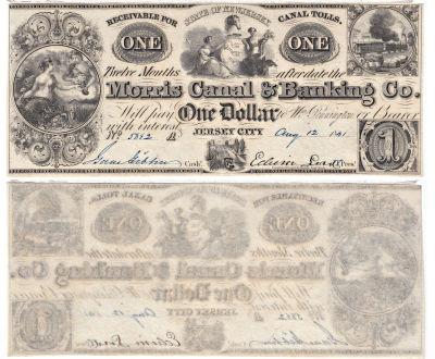 1841. $1. CCU. NJ.
