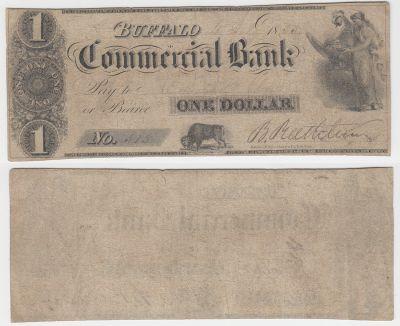 1835. $1. FINE. NY.