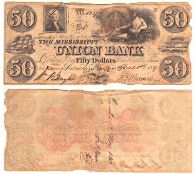 1839. $50. VG. MS.