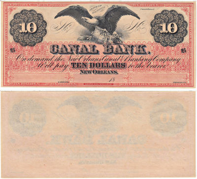 1850's. $10. CCU. LA.