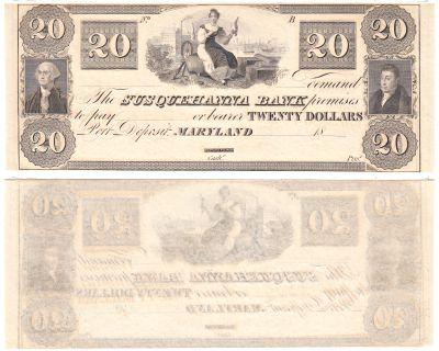 1830's. $20. CCU. MD.
