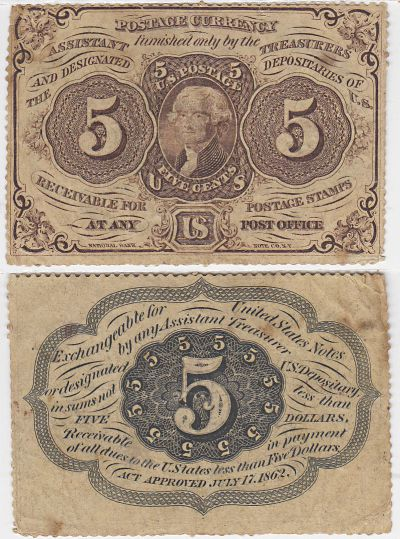 5c. 1st Issue. VF. F-1230.