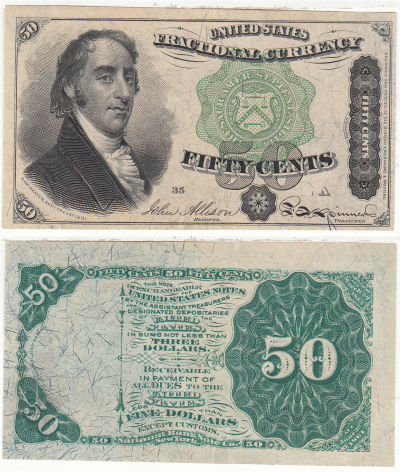 50c. 4th Issue. CCU. F-1379.