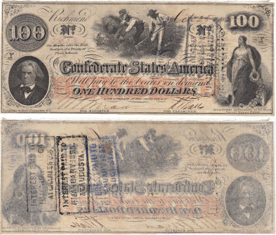 1862. $100. XF. T-41.