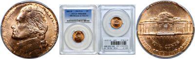 2001-P. PCGS. MS-66. RD. Nickel. Double Denominati