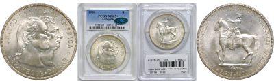 1900. PCGS. MS-65+. Lafayette Dollar.