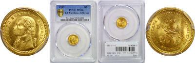 1903. PCGS. MS-66. La. Purchase - Jefferson $1.