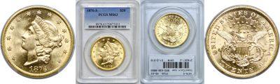 1876-S. PCGS. MS-63.