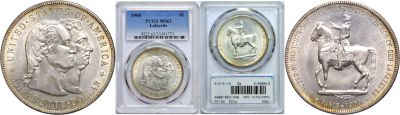 1900. PCGS. MS-62. Lafayette Dollar.