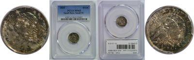 1835. PCGS. MS-63.