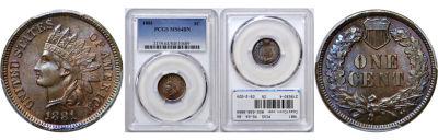 1881. PCGS. MS-64. BN.