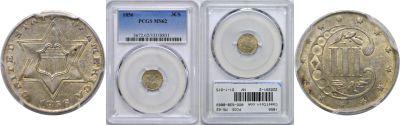1856. PCGS. MS-62.