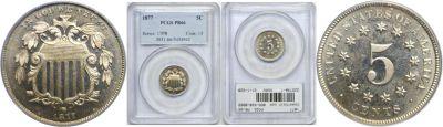 1877. PCGS. PR-66.