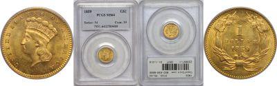 1859. PCGS. MS-64.