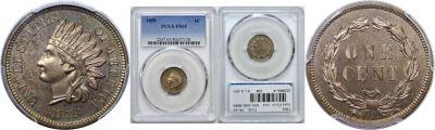 1859. PCGS. PR-65.