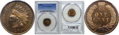 1892. PCGS. PR-65. RB.