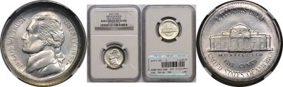 1997. NGC. MS-64. 6FS. Nickel. Broadstruck.