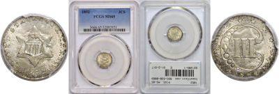 1852. PCGS. MS-65.