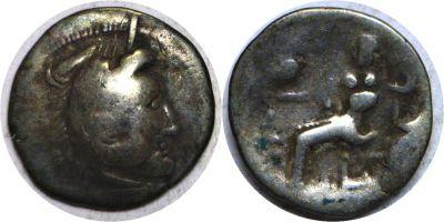 150 BC. Celtic. FINE+. Drachm.