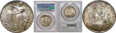 1915-S. PCGS. MS-67+. Panama-Pacific.