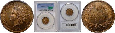 1876. PCGS. PR-65. RB.