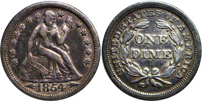 1854. VF.