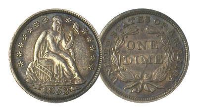 1853. VF.