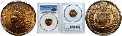 1870. PCGS. MS-65+. RB.