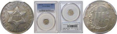 1851-O. PCGS. MS-63.