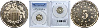 1876. PCGS. PR-66. DCAM.