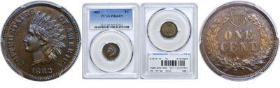 1882. PCGS. PR-66. BN.