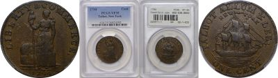 1794. Talbot, Allum and Lee. PCGS. VF-35.