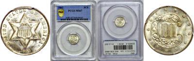 1862. PCGS. MS-67.
