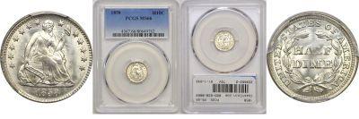 1858. PCGS. MS-66.