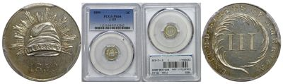 1850. Three Cent. PCGS. PR-64. J-125.