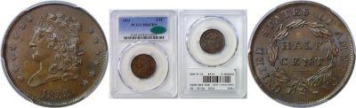 1833. PCGS. MS-65. BN.