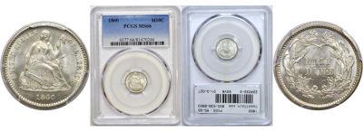 1860. PCGS. MS-66.