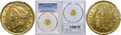 1851-C. PCGS. MS-62.