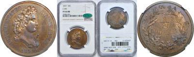 1859. Half Dollar. NGC. PF-66. RB. J-240.