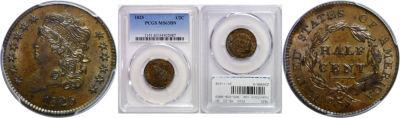 1825. PCGS. MS-63. BN.